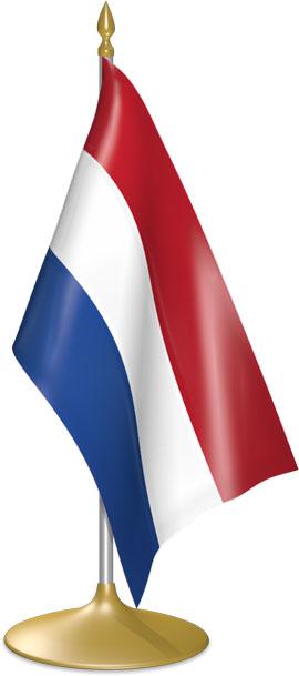 Dutch table flags - desk flags