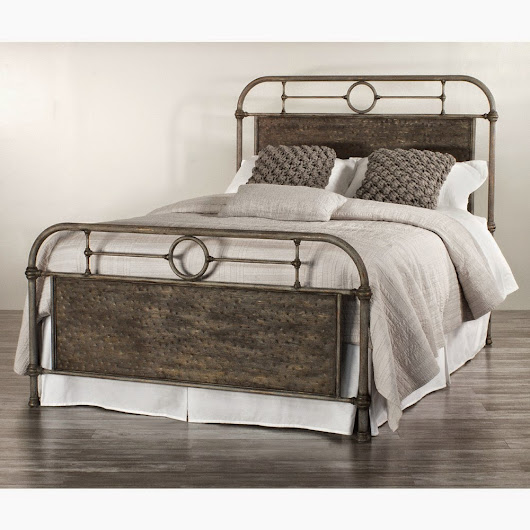 Ideal Wesley Allen us Danville Iron Bed by Humble Abode Custom made in the USA with