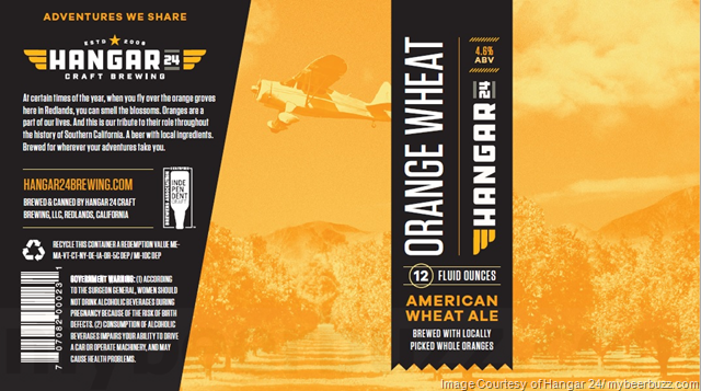 Hangar 24 Adding New Cans For Orange Wheat, Aventura & Peak Blonde