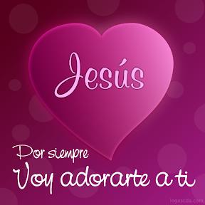 Jesús - Por siempre voy adorarte a ti