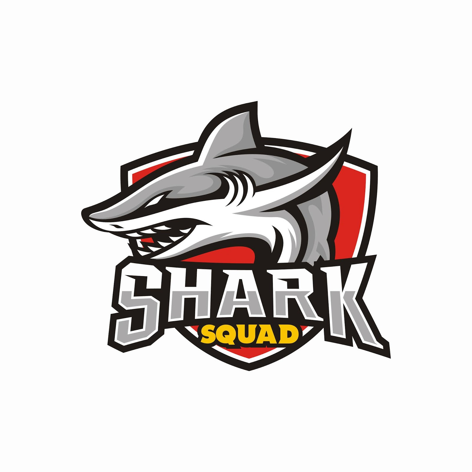 Shark Esport Gaming Mascot Free Download Vector CDR, AI, EPS and PNG Formats