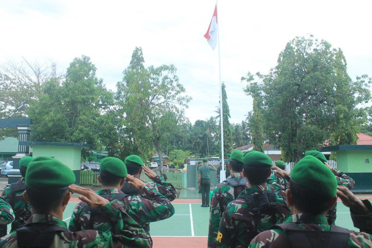 Uacara Bendera Minggu Pertama Kodim 1407/Bone Dipimpin Dandim 1407/Bone