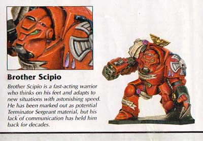 Blood Angles Brother Scipio