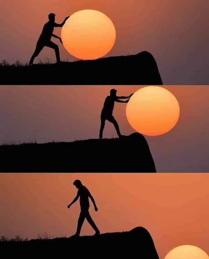 Foto Indah Sunset Keren Gambar Matahari Terbenam Unik Terbaik