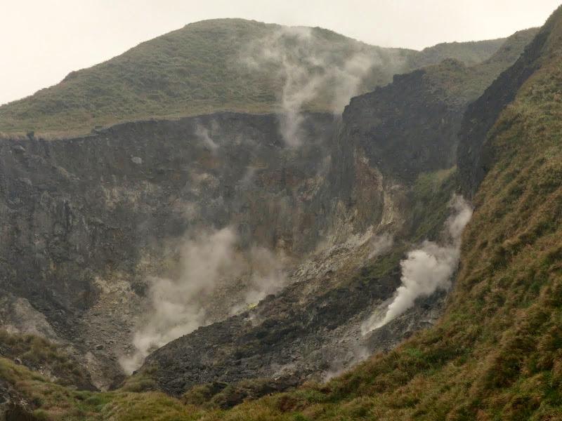 Fumerolles volcaniques perpétuelles a Yangmingshan