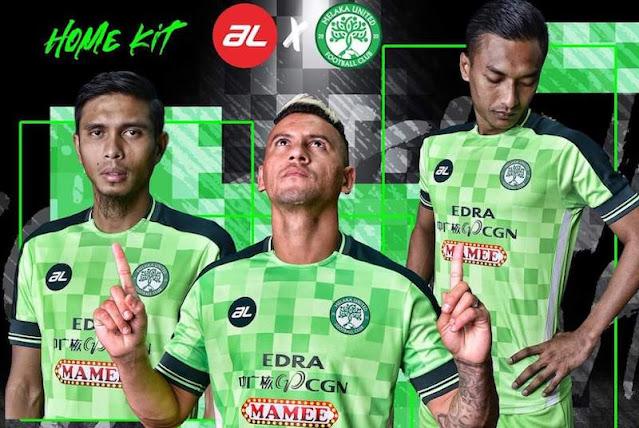 JENAMA AL SEKALI LAGI TAJA JERSI MELAKA UNITED FC 2021