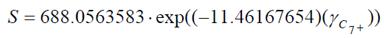 caracterización de la fracción pesada S
