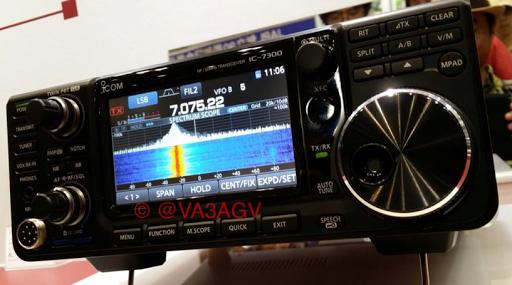 IC-7300 - Icom IC-7300 SDR HF/6m Transceiver: Icom reveals first SDR