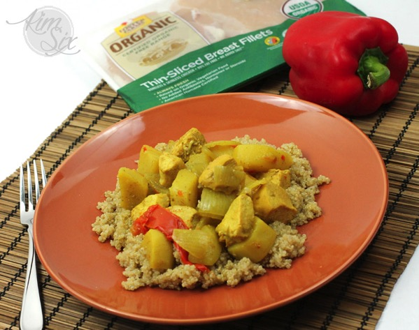Coconut Curry Chicken over Quinoa