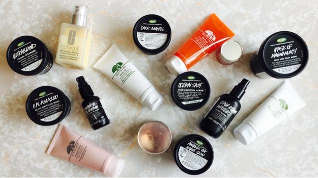 skincare, brands, favourite, autumn, lush, clinique, origins, products, cleansers, facial wash, face masks, moisturisers, eye cream, list, blogger,