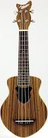 Fishuku Zebrawood Acoustic Soprano
