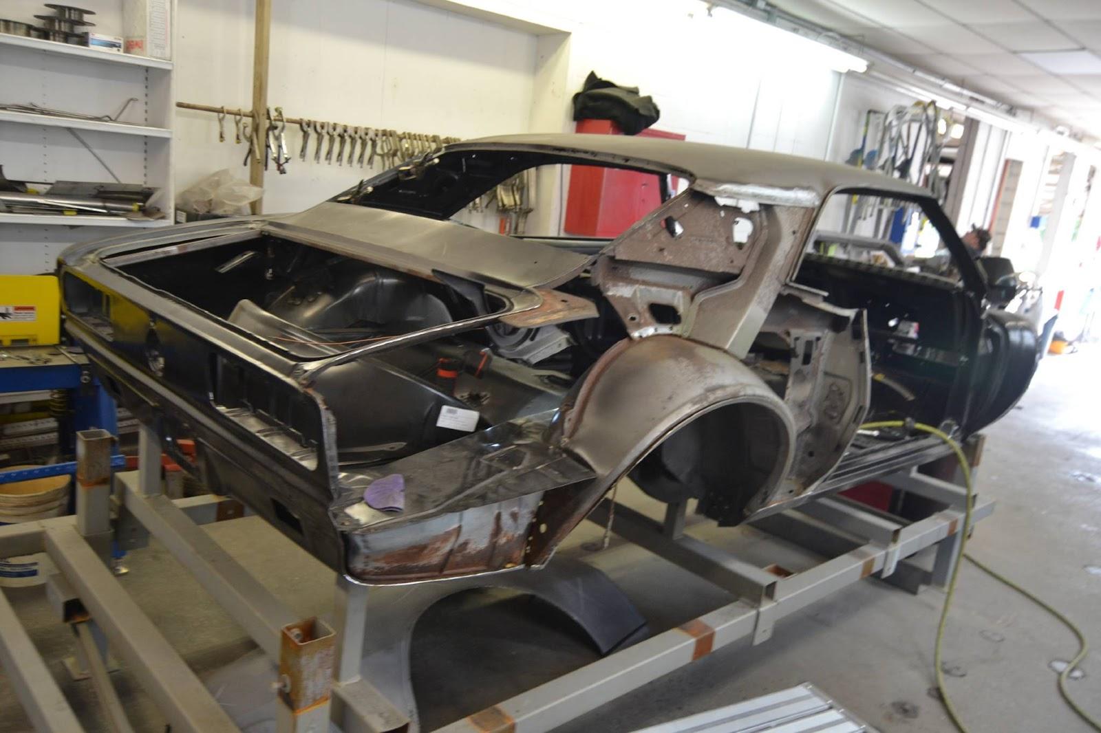 Sheetmetal Repairs on a '67 Camaro RS