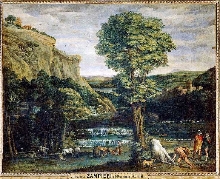Domenichino - Landscape