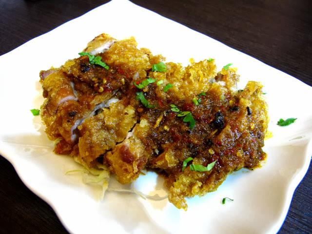 雲味椒麻雞-二分之一泰式小館,台中泰式料理餐廳