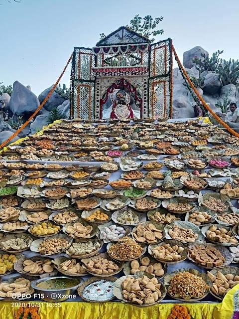 Chhappn bhog shri krishna janm sthan