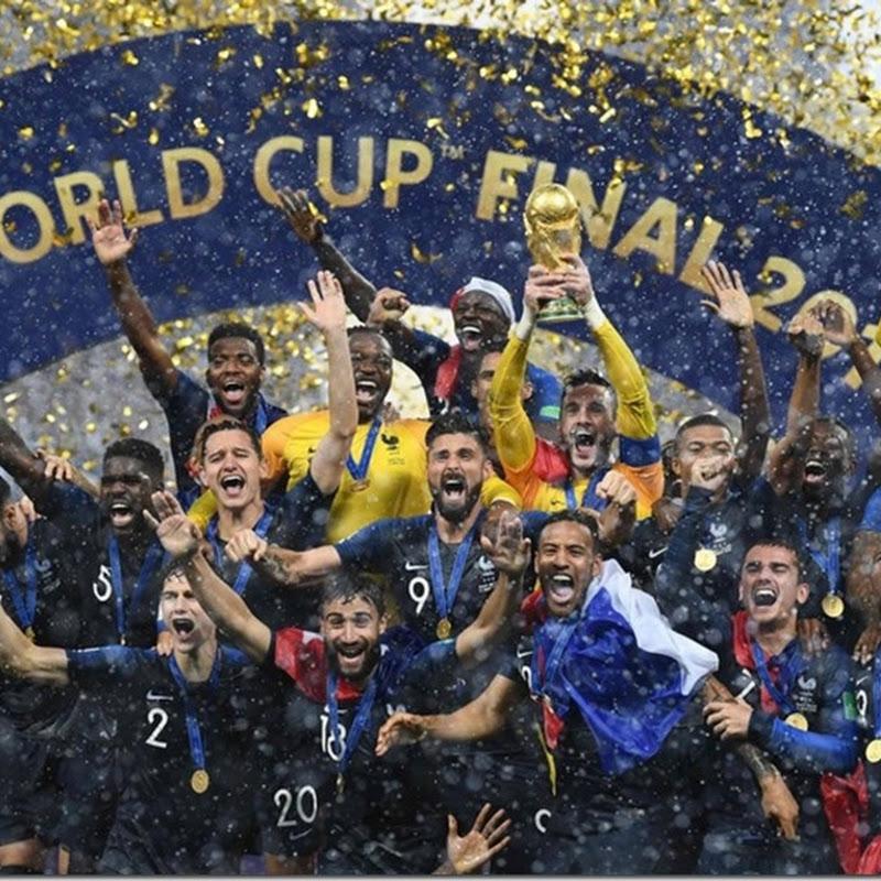 Selección de fútbol de Francia: ganador de dos copas mundiales de la FIFA