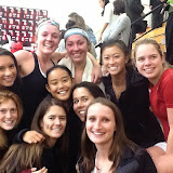 The Harvard Women's team, 2015 champions. A couple players are missing from this photo. (Steven Chu photo.)