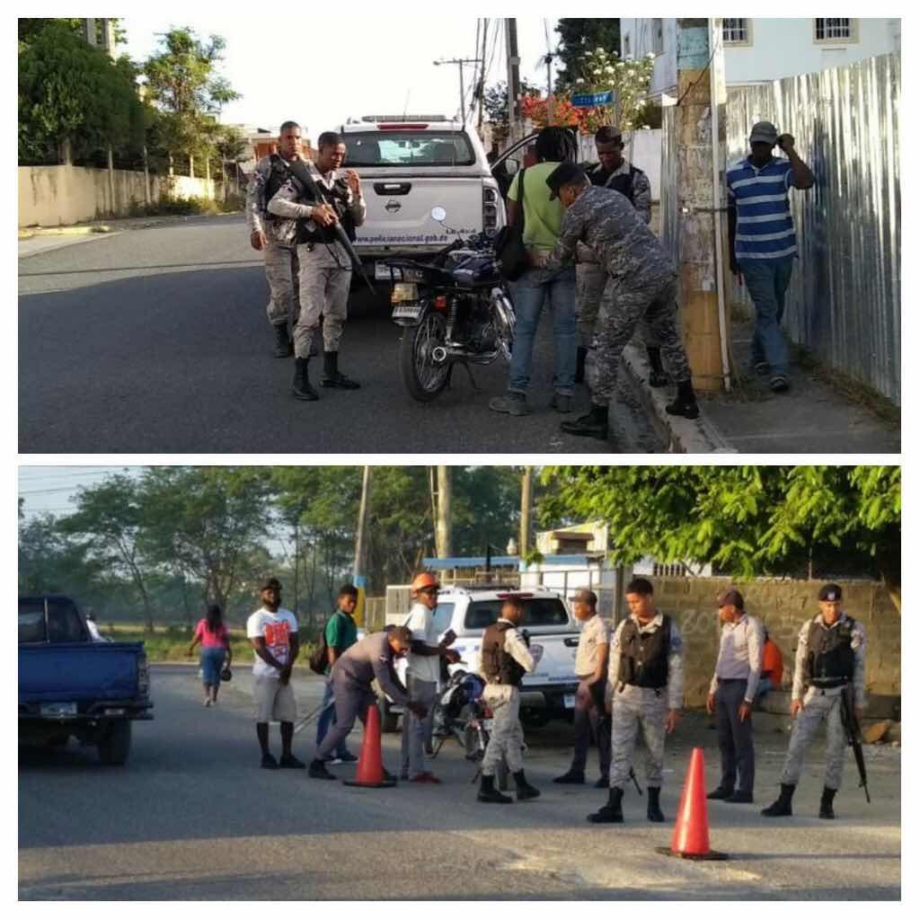 PN apresa 40 individuos con antecedentes  penales en SDE, incauta varias armas de fuegos ilegales