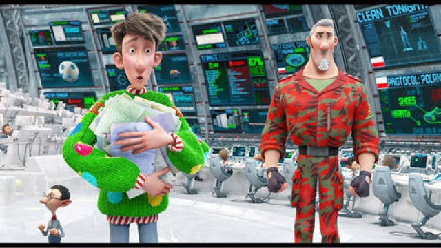 Arthur Christmas Characters.Merc With A Movie Blog 12 Days Of Movie Reviews Arthur