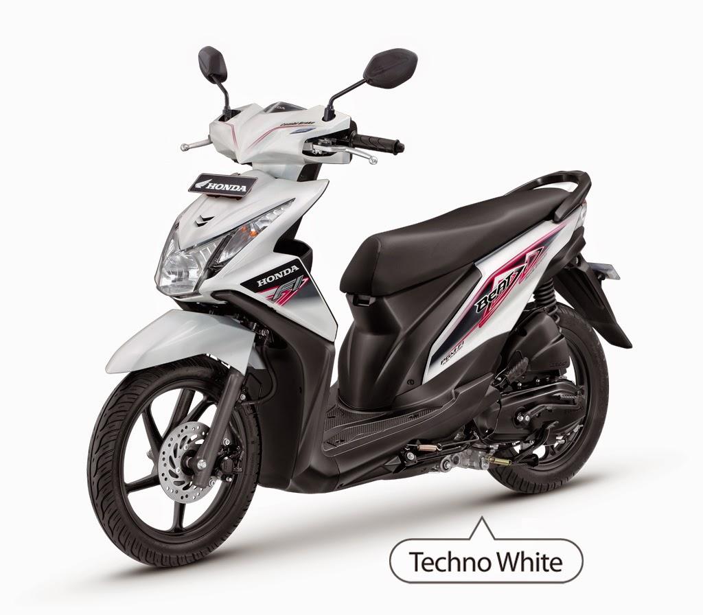 Modifikasi Honda Beat Warna Putih