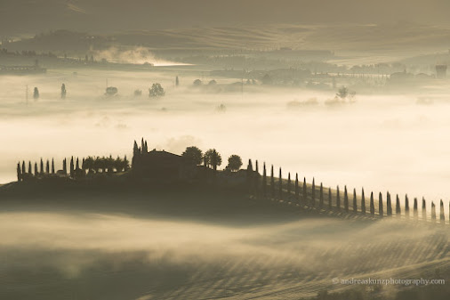 #AndreasKunz #Europe #Italien #Italy #Landscape #Landschaft #Pienza #Toskana #Tuscany #fog #frühling...