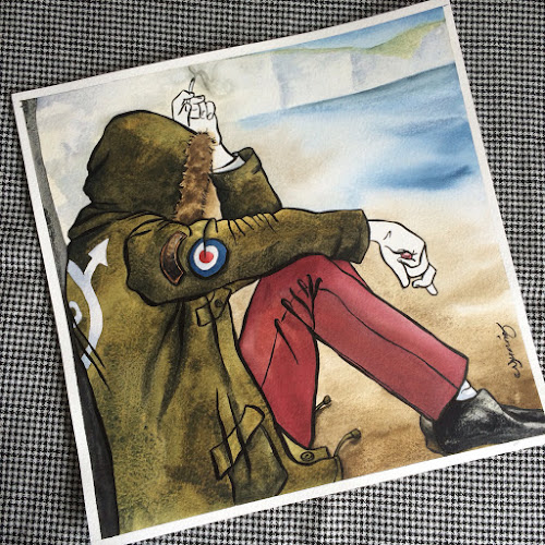 Sea and Sand - The Who, Nikki Morris, Northern Soul & Mod Art