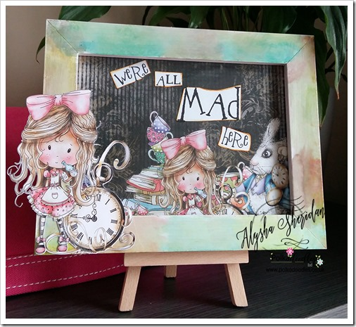 were all mad here frame using Winnie in Wonderland 3