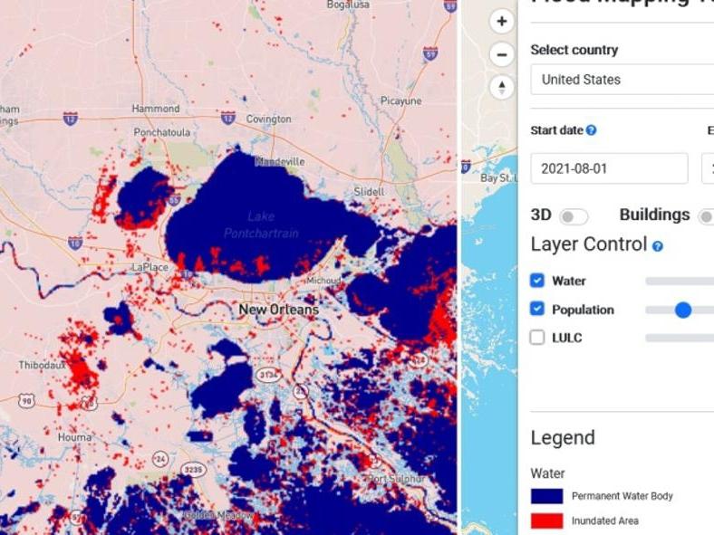 Mapbox предлагает актуальные карты наводнений онлайн