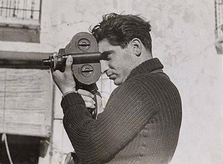 Capa durante a documentação da Guerra Civil Espanhola
