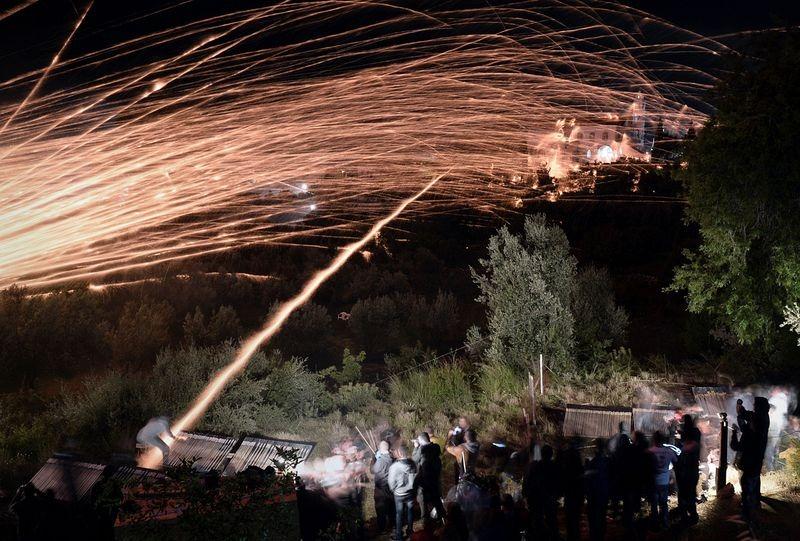 Rouketopolemos The Easter Rocket War Of Vrontados