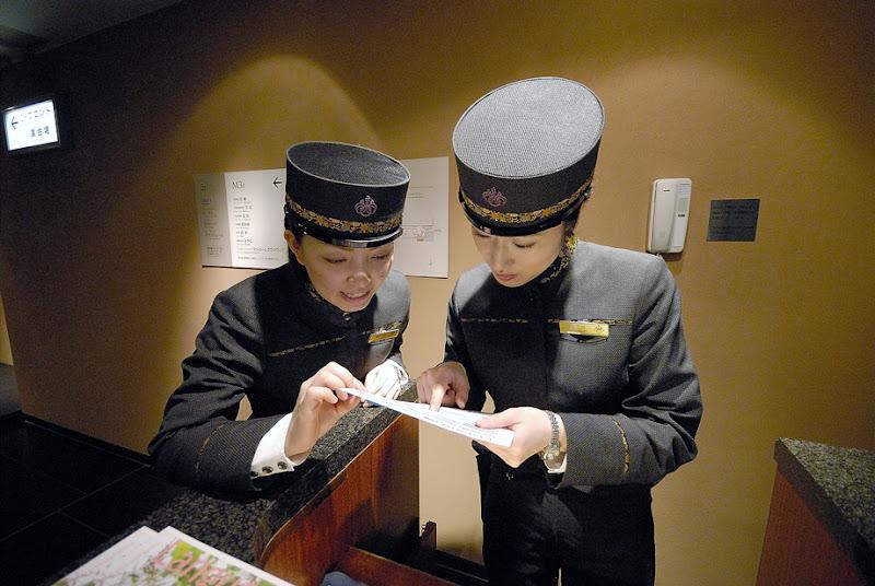 Concierge Service at Ginza. Tokyo