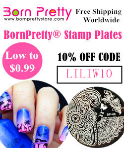 Born Pretty Store 10% discount code LILIW10