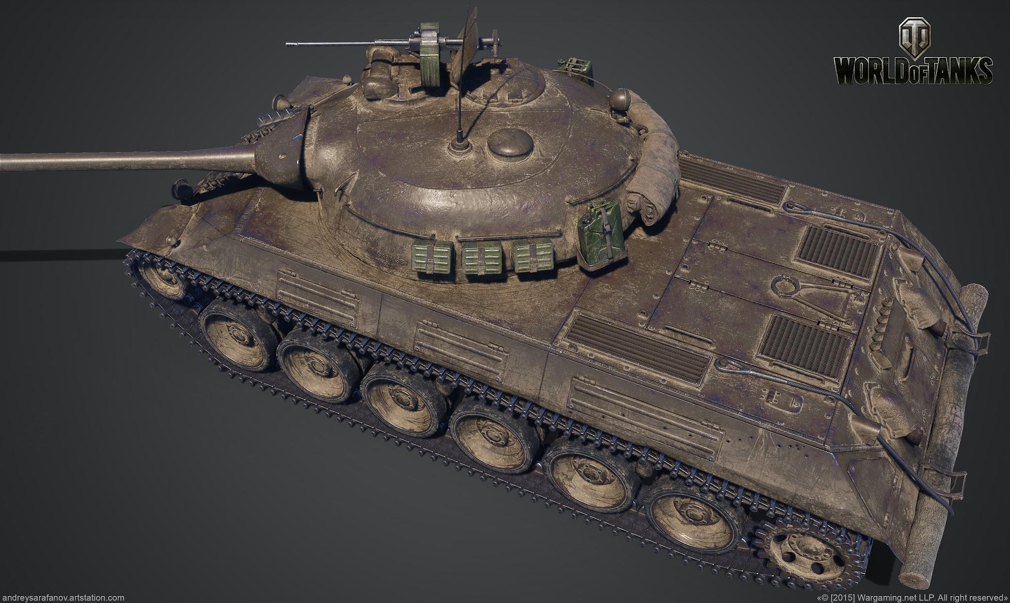 World of Tanks - Art Dump — polycount