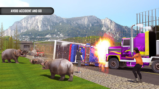 Animal Transporter Offroad Drive screenshots 7