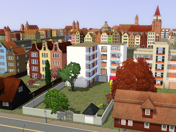 sims3 mesto city stadt miasto free download