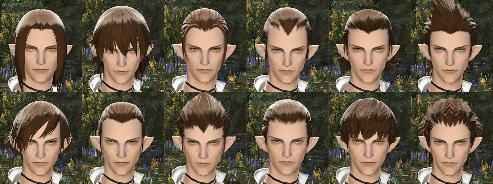Elezen Male Hair