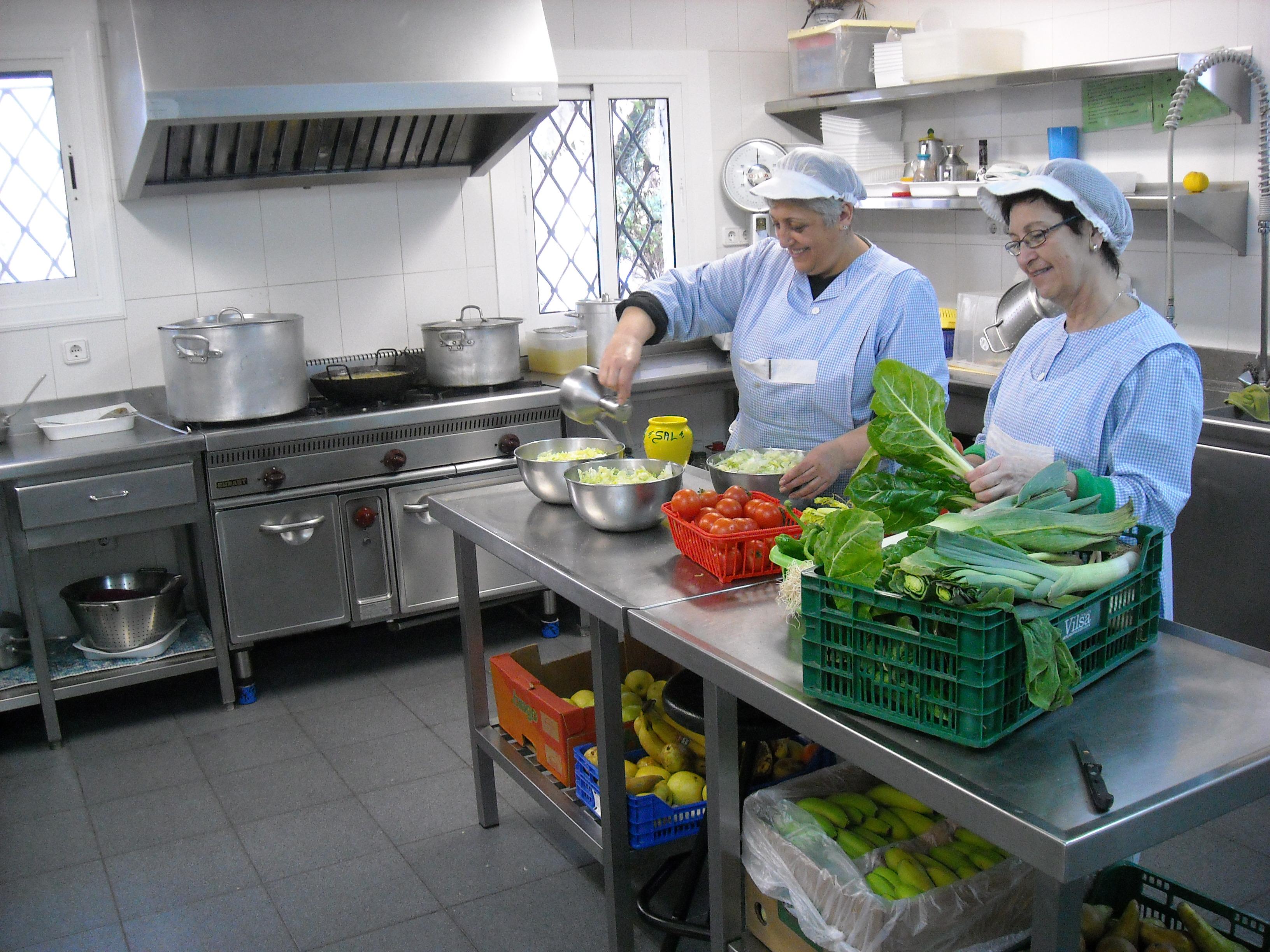Cocina infantil de la guarder a for Proyecto comedor infantil