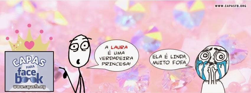 Capas para Facebook Laura