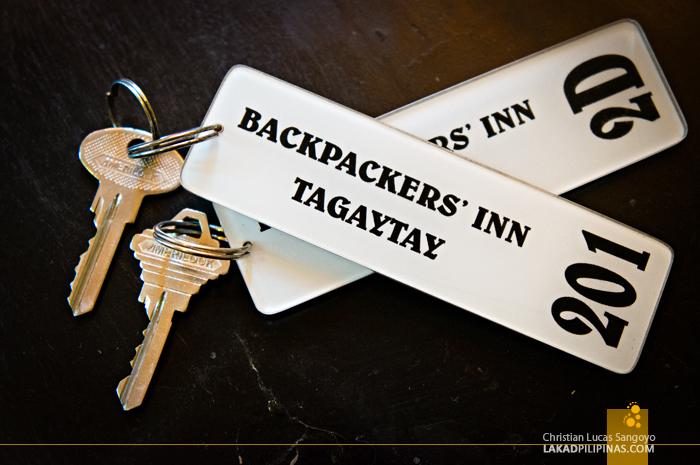 At Tagaytay's D-Zone Backpacker's Inn