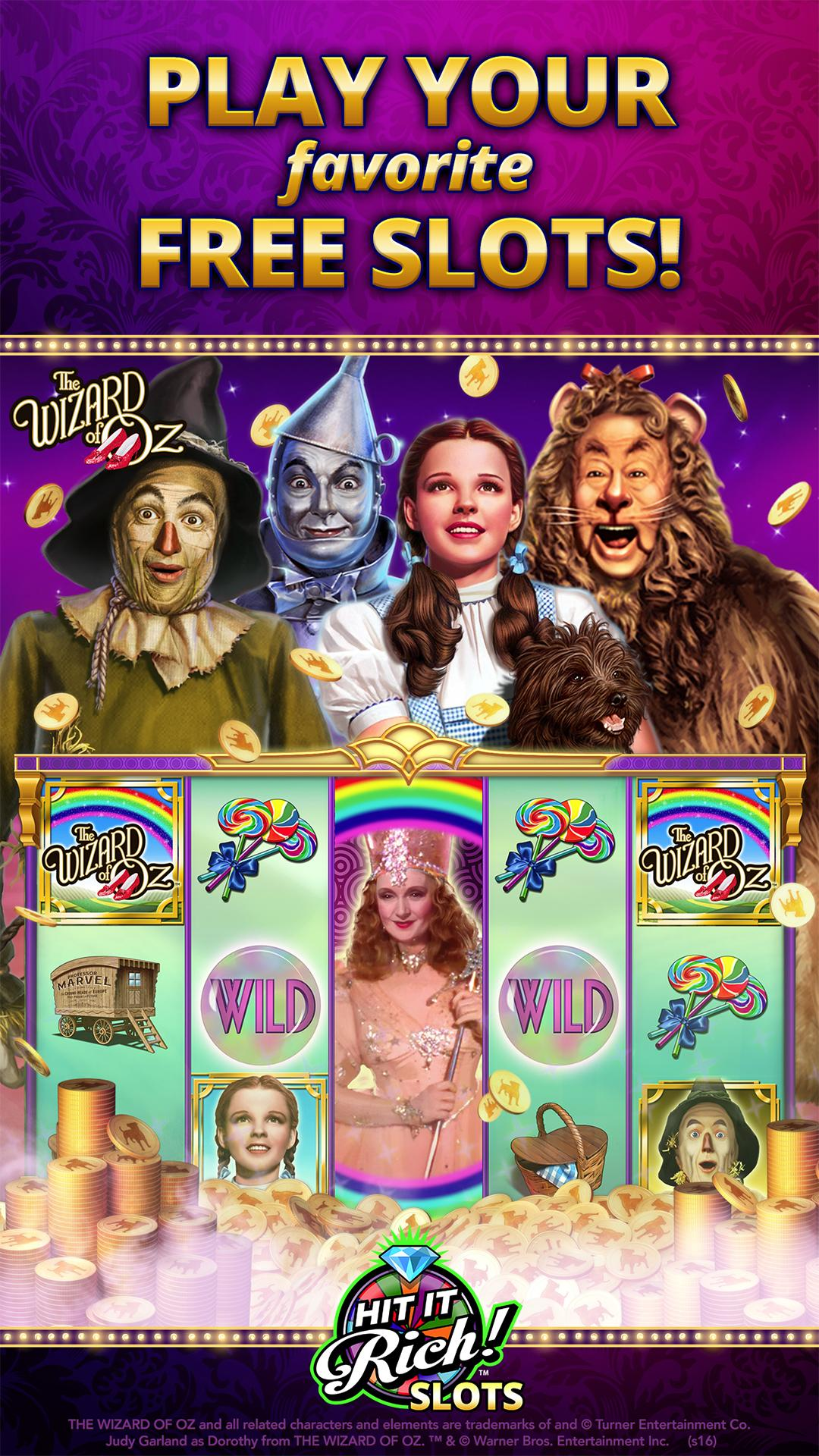 Hit it Rich! Free Casino Slots screenshot #1