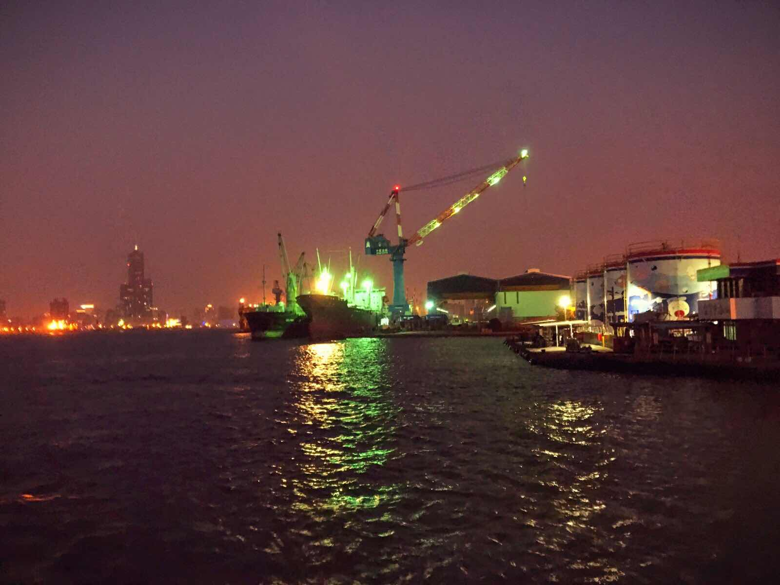 Kaohsiung harbour