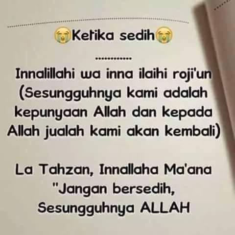 Ingat Allah Hati Tenang