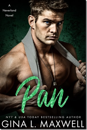 Cover Reveal: Pan (Neverland #1) by Gina L. Maxwell | About That Story