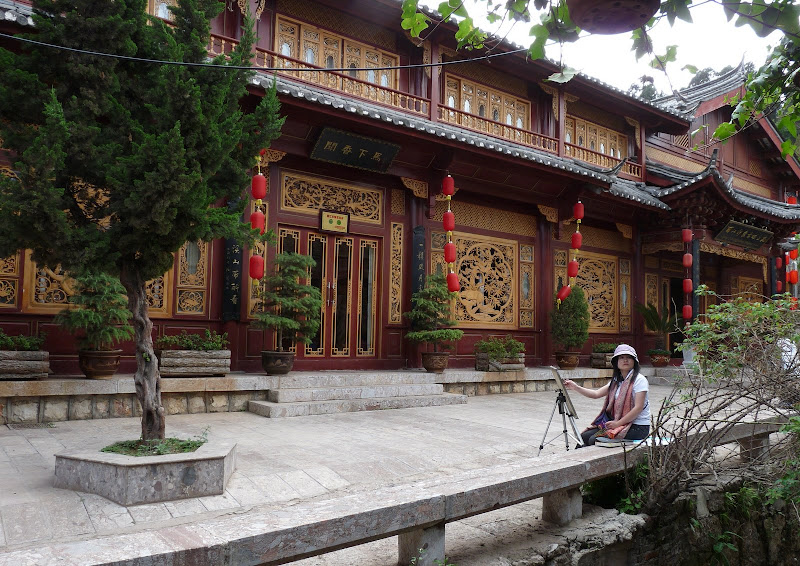 Chine. Yunnan.LIJIANG , Dragon snow mountain,puis lac LUGU - P1230063.JPG