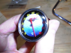 ディップスティック型油温計の分解