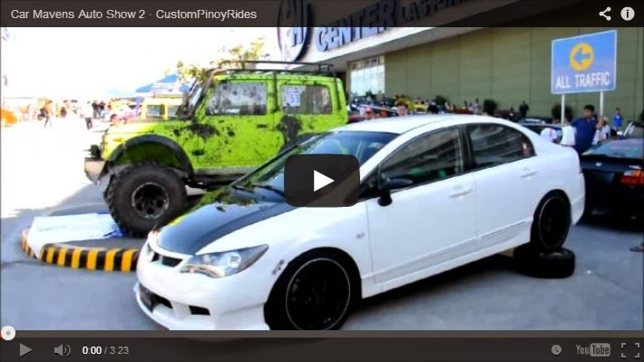 Custom Pinoy Rides – 2014 Car Mavens Auto Show (Video) Errol Panganiban Car Videography
