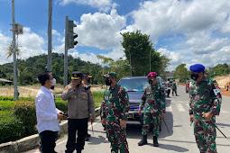 Penutupan 55 Titik Ruas Jalan Protokol Kota Batam, di Lakukan Untuk Perketat Pelaksanaan PPKM Darurat
