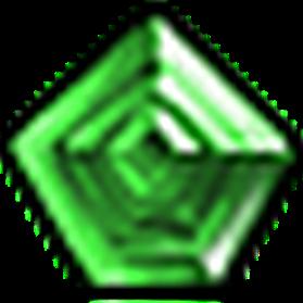 無瑕星芒綠寶石