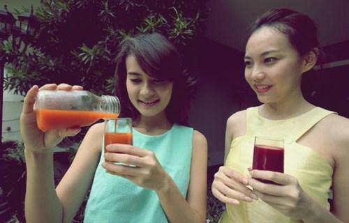 detoksifikasi dengan jus buah