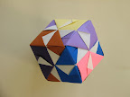 "Cube from 6 Daisy Sonobe units by Meenakshi Mukerji: ""Marvelous Modular Origami"", page 6"